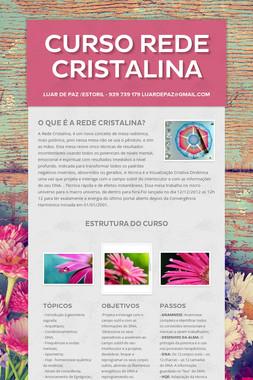 CURSO REDE CRISTALINA