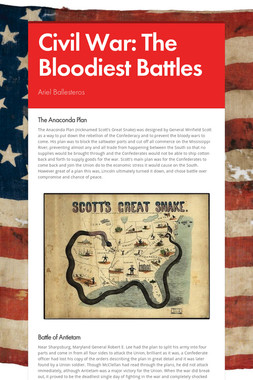 Civil War: The Bloodiest Battles