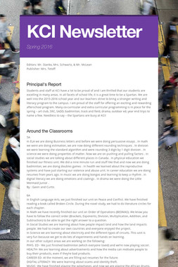 KCI Newsletter