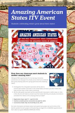 Amazing American States ITV Event