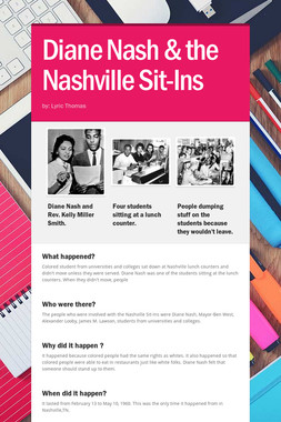 Diane Nash & the Nashville Sit-Ins