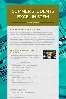 Sumner Students Excel in STEM
