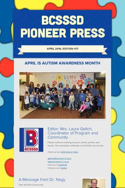 BCSSSD Pioneer Press