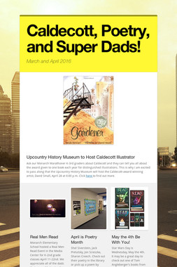 Caldecott, Poetry, and Super Dads!