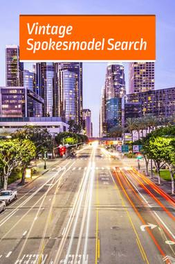 Vintage Spokesmodel Search