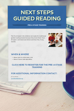 Next Steps Guided Reading