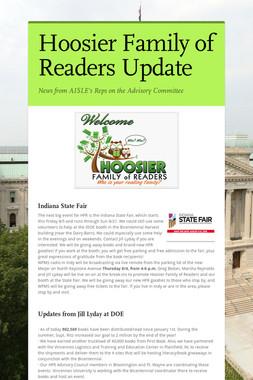 Hoosier Family of Readers Update