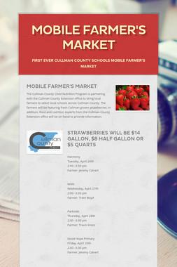 Mobile Farmer's Market