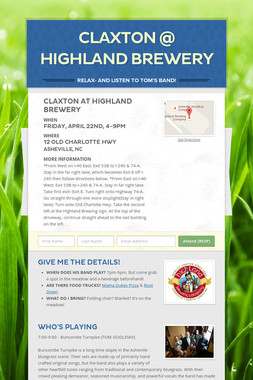 Claxton @ Highland Brewery