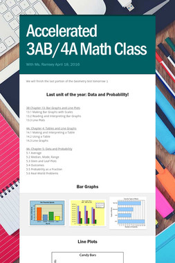 Accelerated 3AB/4A Math Class