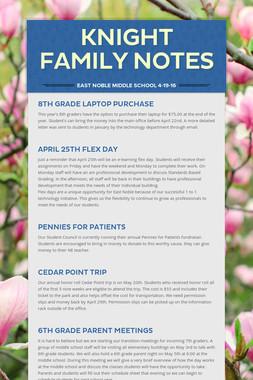 Knight Family Notes