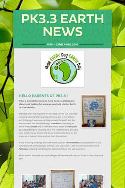 PK3.3 Earth News