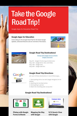 Take the Google Road Trip!
