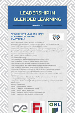 Leadership in Blended Learning