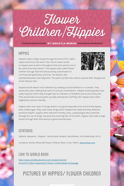 Flower Children/Hippies