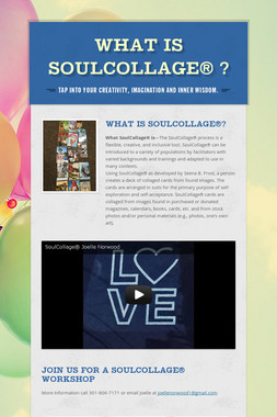 What is SoulCollage® ?