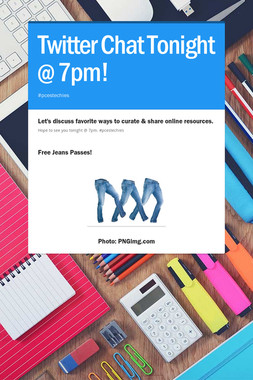 Twitter Chat Tonight @ 7pm!