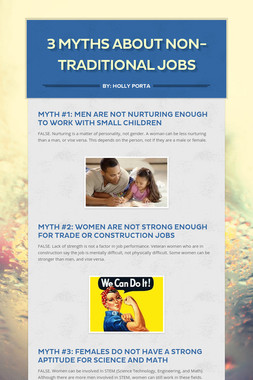 3 Myths About Non-Traditional Jobs