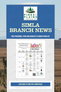 Simla Branch News
