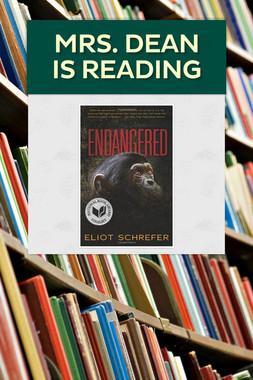 Mrs. Dean is reading