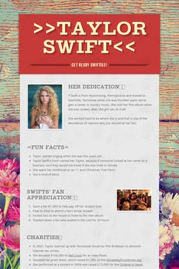 >>Taylor Swift<<