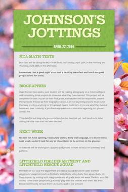 Johnson's Jottings
