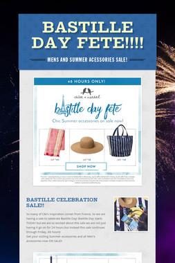 Bastille Day Fete!!!!