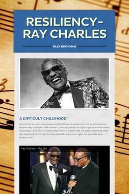 Resiliency-Ray Charles
