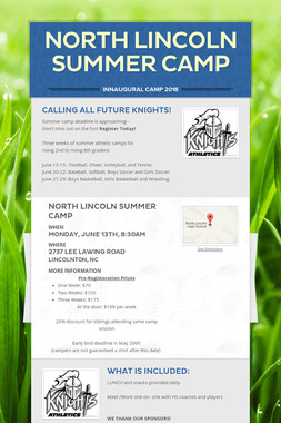 North Lincoln Summer Camp
