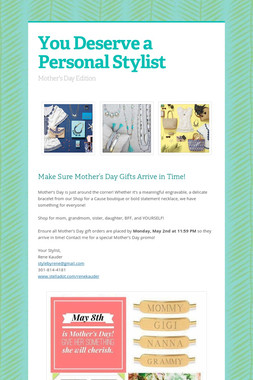 You Deserve a Personal Stylist