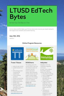LTUSD EdTech Bytes