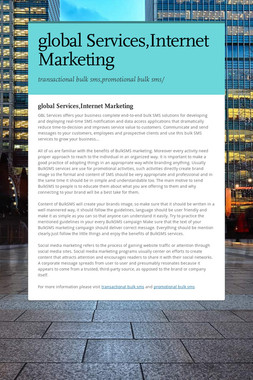 global Services,Internet Marketing
