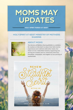 MOMS May Updates