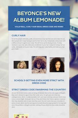 Beyonce's new album Lemonade!