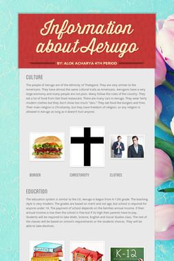 Information about Aerugo