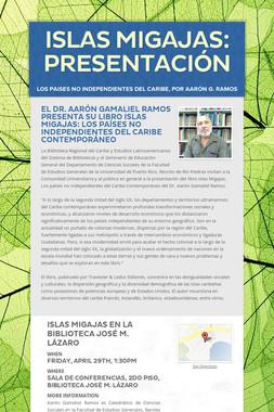 ISLAS MIGAJAS: Presentación