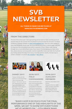 SVB Newsletter