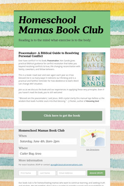 Homeschool Mamas Book Club