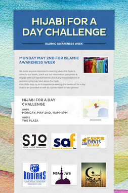 Hijabi for a Day Challenge