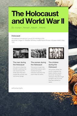 The Holocaust and World War ll