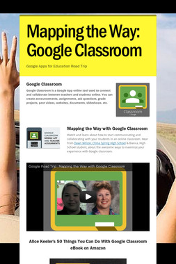 Mapping the Way: Google Classroom