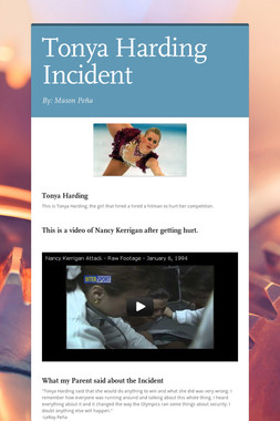 Tonya Harding Incident