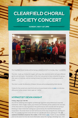 Clearfield Choral Society Concert