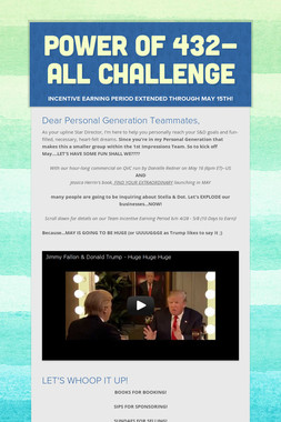 Power of 432-ALL Challenge