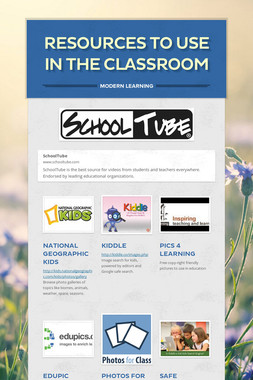 Resources to use in the Classroom