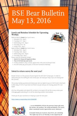 BSE Bear Bulletin May 13, 2016