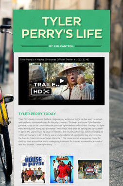 Tyler Perry's life
