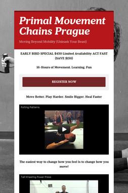 Primal Movement Chains Prague