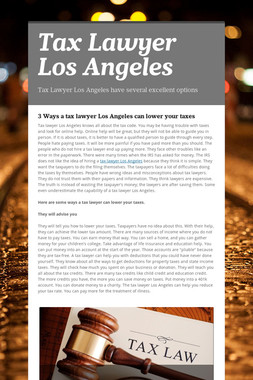 Tax Lawyer Los Angeles