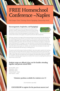 FREE Homeschool Conference ~Naples